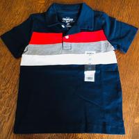 ストライプ ポロシャツ2T