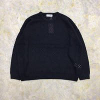 TTT MSW | Wool pullover knit | black