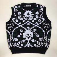 TTT_MSW | Persia knit vest  | black
