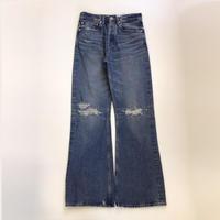 DAIRIKU |  Damage Flare Denim Pants | Indigo