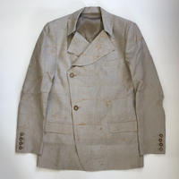 Nobuyuki Matsui | DETACHABLE COLLAR JACKET | NATURAL