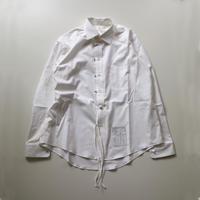 SOSHIOTSUKI | ENDING CUTTER SHIRTS | WHITE