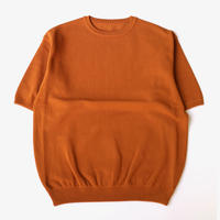 crepuscule | S/S knit | Orangebrown