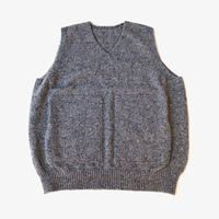 crepuscule | wholegarment knit vest  | Gray