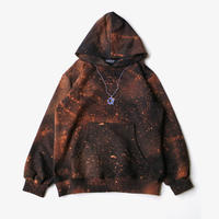 SHOOP | UNIVERSE HOODIE | BLACK ORANGE
