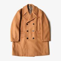 Allege. | Melton Pea Coat  | CAMEL