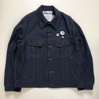 "DAIRIKU   ""Johnny "" Polyester Jacket   Navy"