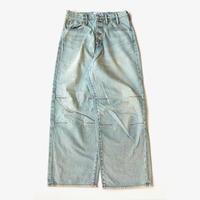 sugarhill | FADED CONSTRUCTED DENIM PANTS | Faded Indigo