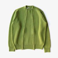 Allege. | Double Zip Rib Knit  | GREEN