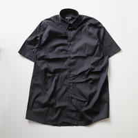 SHOOP | PLEAT SHIRT | BLACK