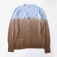 TTT_MSW | gradation cardigan  | light blue