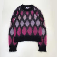 sugarhill | MOHAIR PYNCH KNIT | PINK