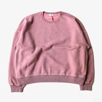 URU | CREW NECK SWEAT | PINK