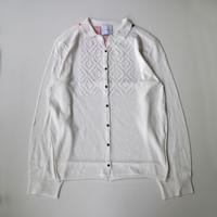 Kota Gushiken | Diamond Shirt | White