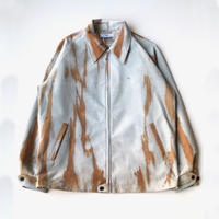 sugarhill | SHIBORI-SOME LEATHER SWING TOP | BROWN