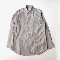 kudos | GATHERED SHIRT | BEIGE