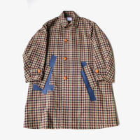 kolor | 19WCM-C03103  | BEIGE MIX CHECK