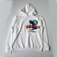 TTT_MSW | pullover parka  | WHITE