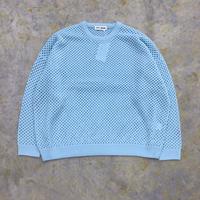 TTT MSW | Wool pullover knit | blue
