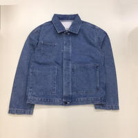 kudos | PATCH POCKET DENIM JACKET | BIO