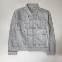 Allege. | Garment Dye Denim Blouson  | GRAY