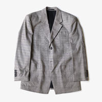 JUNWEI LIN | SINGLE CHECK JACKET | Grey