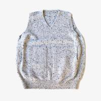 crepuscule | wholegarment knit vest  | L.Gray