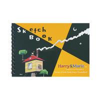 【ハリーのおうち】マルマン×ハリー&マリー スケッチブック B6サイズ