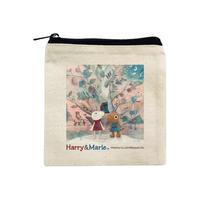 Harry&Marie キャンバスミニポーチ_ホーンプバック
