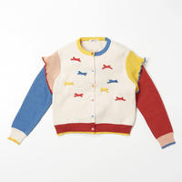 Doodle Cardigan (OFFWHITE)