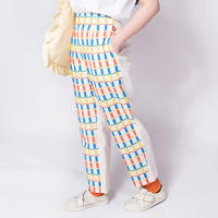 Flower Bed Pants  - YELLOW