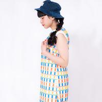 Flower Bed Dress  - YELLOW