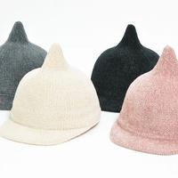 キッズ&ベビーちゃん用 可愛いとんがり帽子/秋冬/4色/送料無料