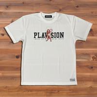 PLAVISION×ライオンTシャツ(ホワイト)