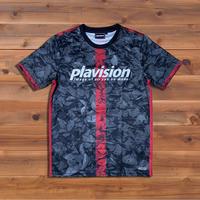 リーフ迷彩ゲームシャツ(ブラック)