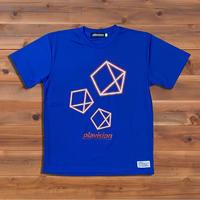 3ペンタゴンTシャツ(ブルー)