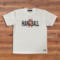 HANDBALL×ライオンTシャツ(ホワイト)
