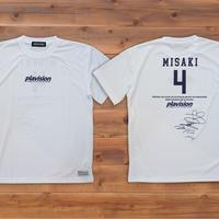 飯塚美沙希選手サイン入りTシャツ(ホワイト)