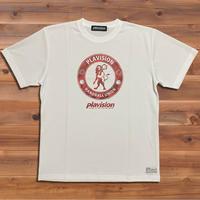 ライオンエンブレムドット迷彩Tシャツ (ホワイト)