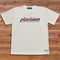 ハーフカット定番ロゴTシャツ (ホワイト)