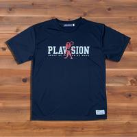 PLAVISION×ライオンTシャツ(ブラック)