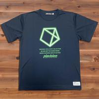 ペンタゴンTシャツ (ネイビー)