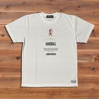 バーチカルライオンTシャツ(ホワイト)
