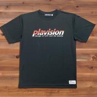 ハーフカット定番ロゴTシャツ (ブラック)