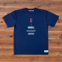 バーチカルライオンTシャツ(ネイビー)