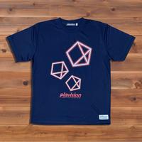 3ペンタゴンTシャツ(ネイビー)