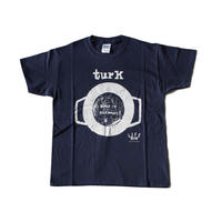 TURK T-SHIRTS(navy)lady's