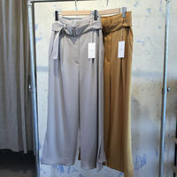 CINOH 18RPT004  HI  WAIST VENTS PANTS/チノハイウエストパンツ