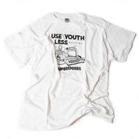 ユースレスマシン Tシャツ 【ホワイト】