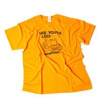 ユースレスマシン Tシャツ 【オレンジ】